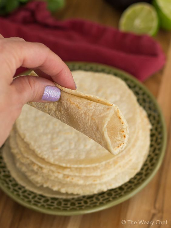 Cook up a stack of warm fresh homemade corn tortillas in only about 15 minutes