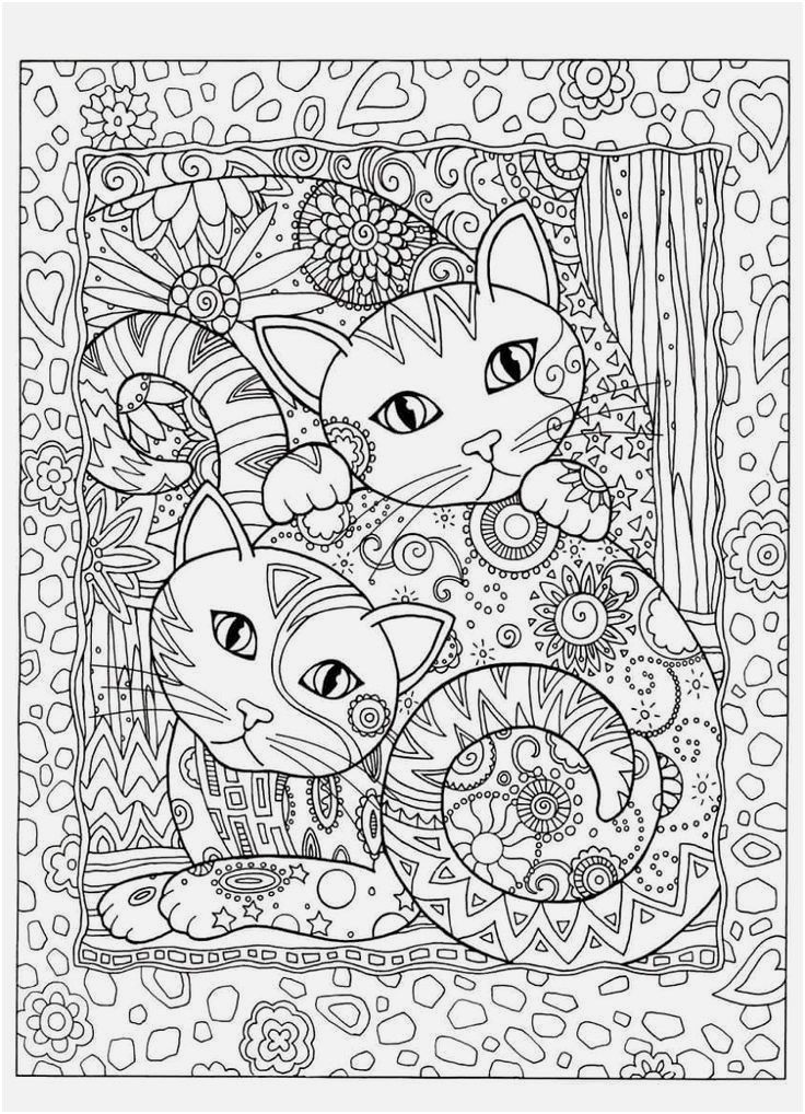 Free Cat Coloring Pages Unique Cat Coloring Pages Printable Best Cat and Dog Coloring Pages