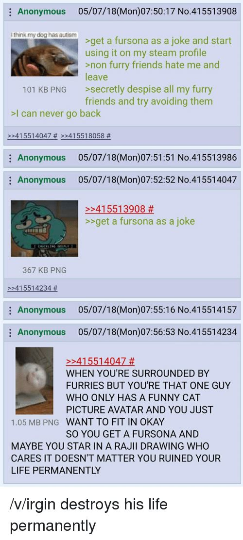 4chan Friends and Funny Anonymous 05 07 18 Mon