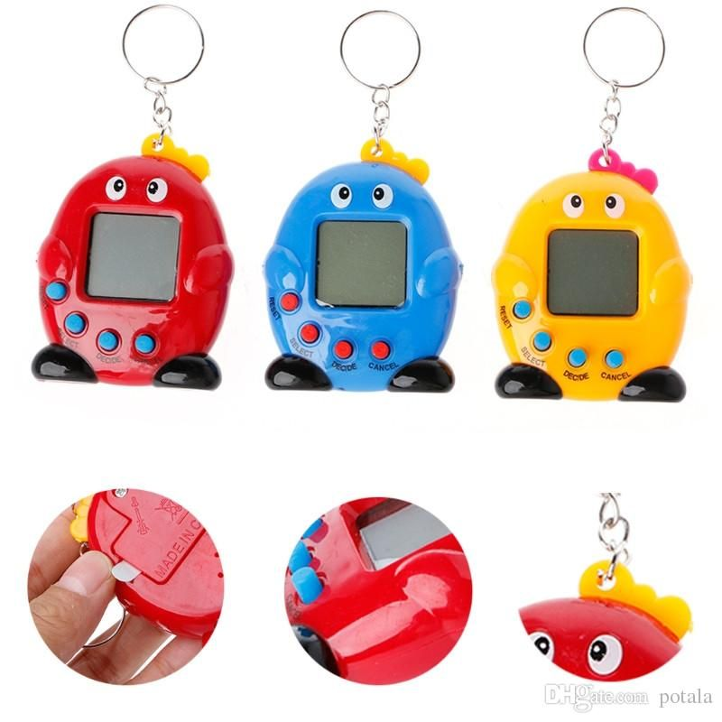 Christmas Gift 5 Style Electronic Pets Tamagotchi Kids Toys Multi Cyber Pets Tamagochi Toy For Children Xmas Birthday Kids Toys Red Green Electric Dog Toys
