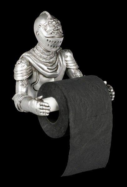 Toilet Paper Holder Brave Knight