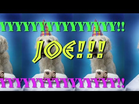 HAPPY BIRTHDAY JOE EPIC Happy Birthday Song