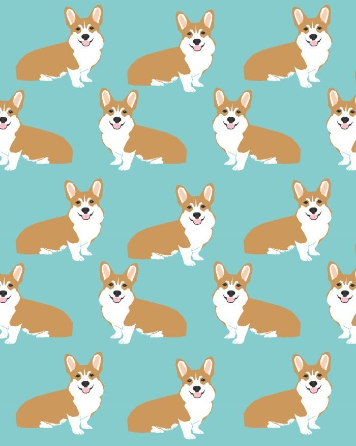 Welsh Corgi cute pattern mint corgi puppy funny dog person ts for the corgi owner must