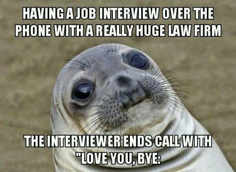 Funny meme awkward interview