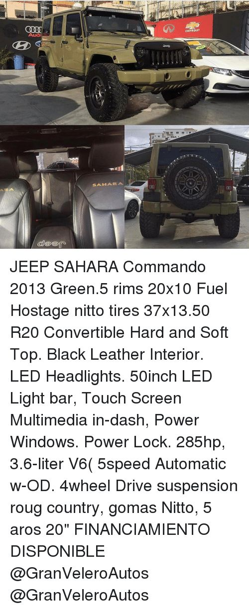 Memes Chevrolet and Rims SAA IHI AR CHEVROLET JEEP SAHARA mando 2013