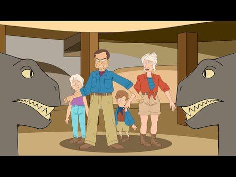 If Jurassic Park Were In Different Geological Eras