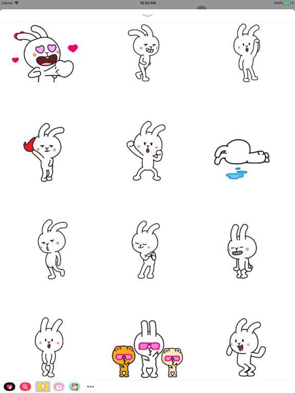 Screenshot 1 for Funny Rabbit Dancing 2 Animate