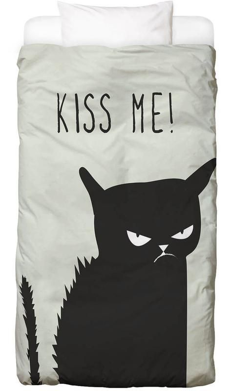 Kiss Me Cat — Bed Linen