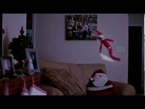 The Elf on the Shelf caught flying and ting into trouble Part 2 of 5