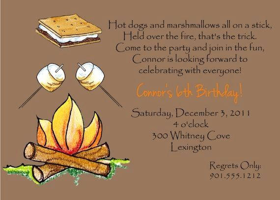 Bonfire Birthday Parties Bonfire Birthday Invitations Beautiful Birthdays Invitations 0d Fall