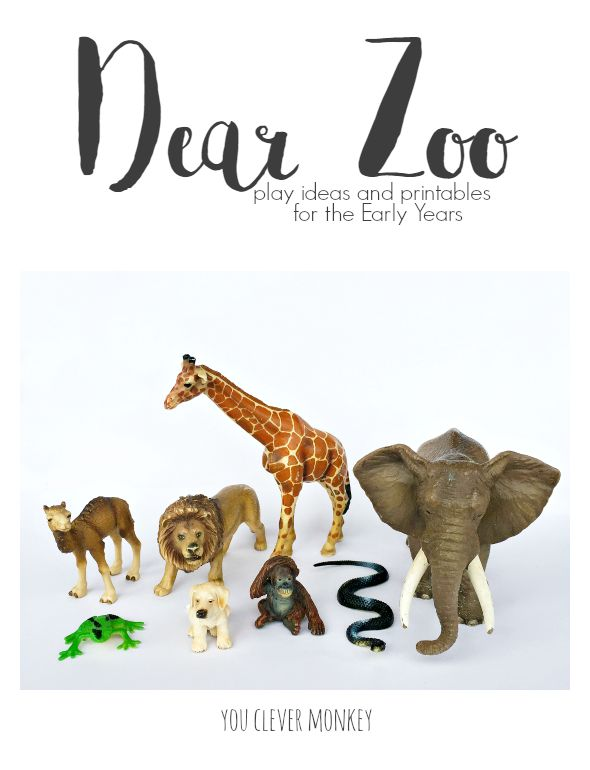 Dear Zoo is a perfect choice for book based learning in a Early Years setting