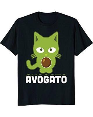 Avogato Cute Cat Avocado Funny Cinco De Mayo Holiday T Shirt