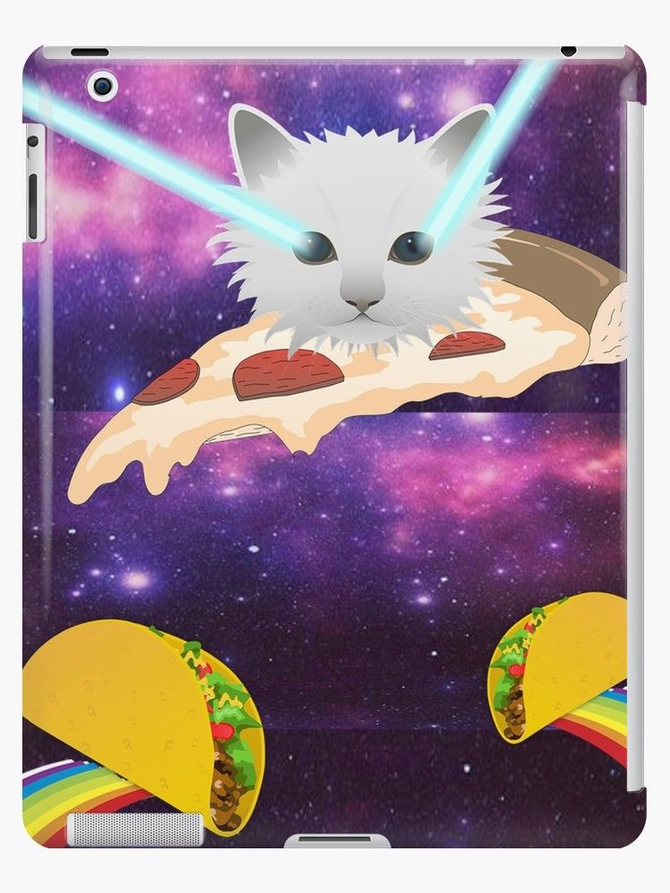 Funny Cat Pizza Laser Eyes Taco Rainbow T Shirt Galaxy Outer Space Print Coffee Mug