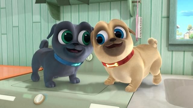 "5 burning questions from a mom who watches way too much ""Puppy Dog Pals"""