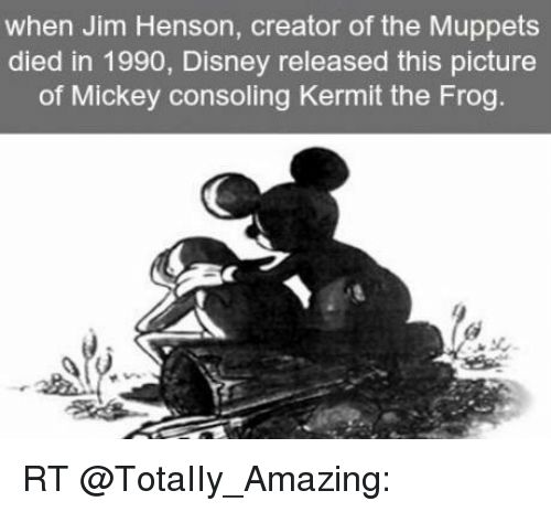 Memes 🤖 and Creator when Jim Henson creator of the Muppets d