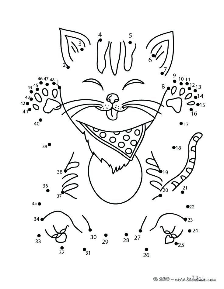 connect the dots game printable funny cat dot to dot game printable connect the dots game