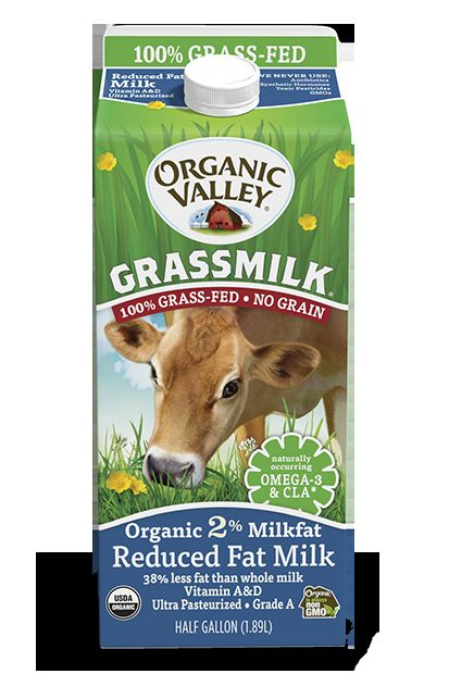 Reduced Fat Grassmilk Ultra Pasteurized Half Gallon