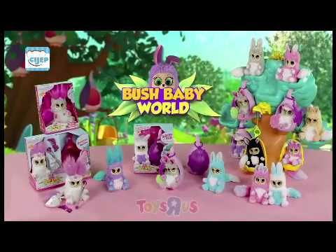 Bush Baby chez Toys R Us