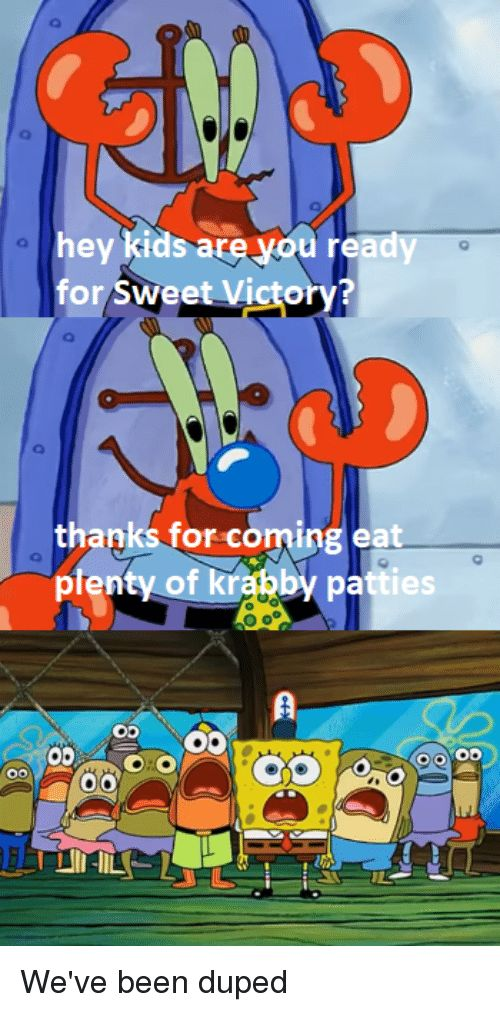 SpongeBob Kids and Been hey kids are you ready for Sweet Victorv