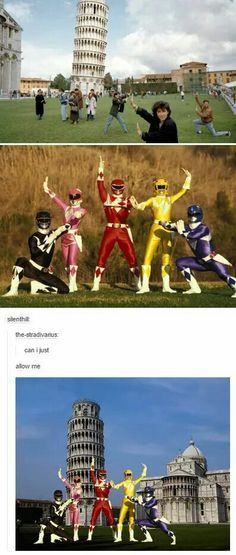 Funny pictures about Power Rangers visit Europe Oh and cool pics about Power Rangers visit Europe Also Power Rangers visit Europe