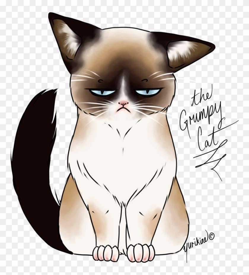Drawn Grumpy Cat Digital Cute Grumpy Cat Drawings