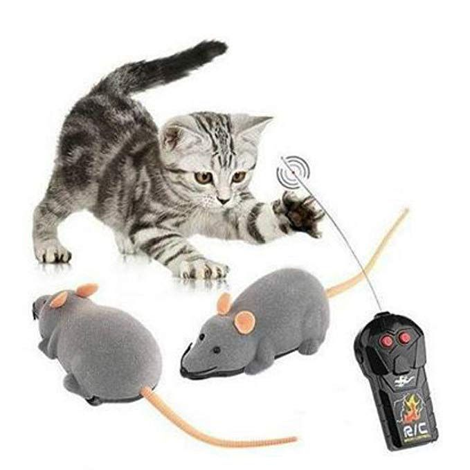 Buy Rrimin Remote Control RC Rat Mouse Wireless For Cat Dog Pet Toy Novelty Gift 1 pc line at Low Prices in India Amazon