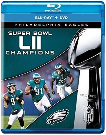 NFL Super Bowl LII Champions The Philadelphia Eagles BO [Blu ray]