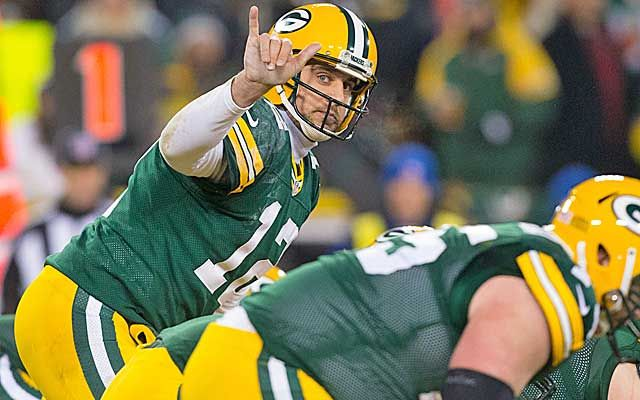 Aaron Rodgers says the Packers are constantly changing what words mean USATSI