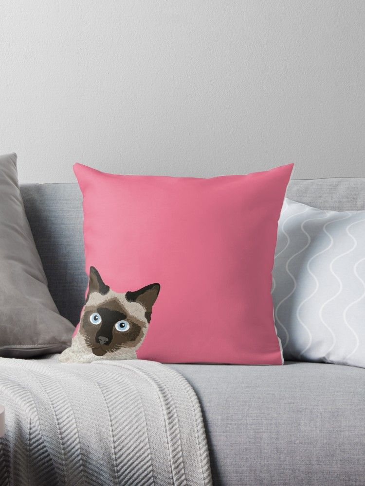 Peeking Siamese Cat Funny cat meme for cat lovers cat la s ts for cat people