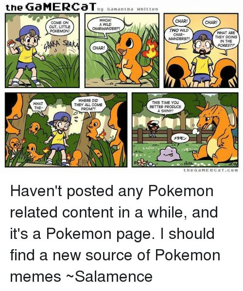 Charmander Memes and Time the GaMERCaT by San antha Whitten WHOA CHAR