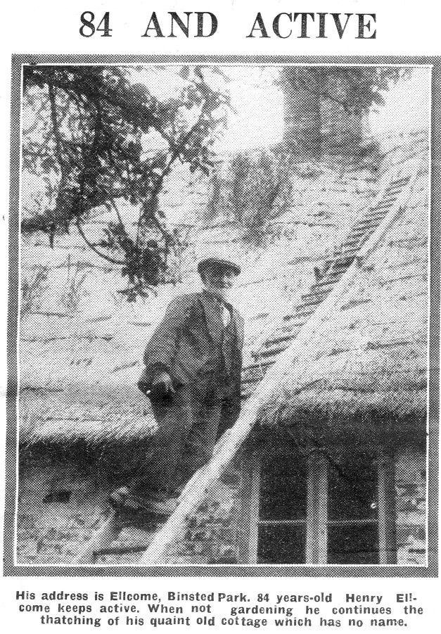 Henry Ell be thatching