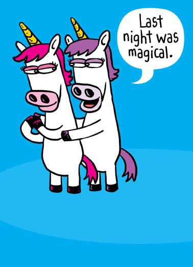 Horny Unicorn Funny Valentine s Day For Him Valentine there s nothing I like more than being