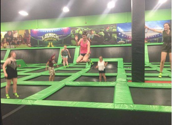 Launch Trampoline Park Methuen Bouncing around