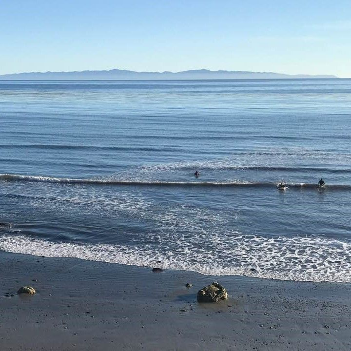 A clear view of the Channel Islands in Goleta yesterday