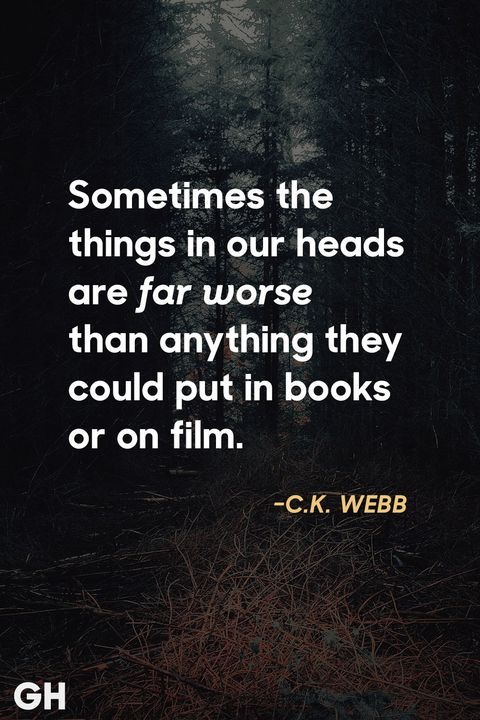 c k webb scary quotes