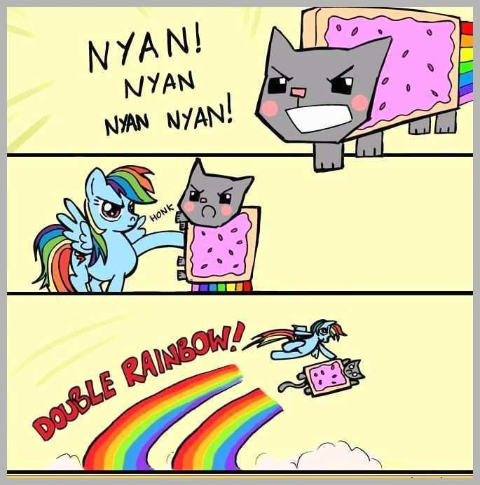 Grasp the Incredible Funny Nyan Cat Pictures