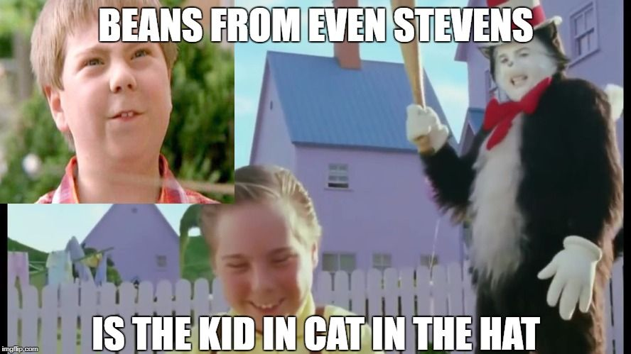 BEans ANd CAt in THe HAt