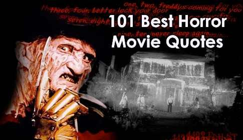 best horror movie quotes