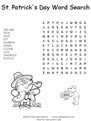 St Patrick Coloring Page New St Patrick S Day Coloring Pages and Activities for Kids
