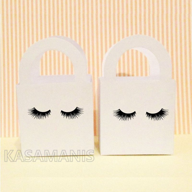 Cute Eyelash Art DIY Ornament Decals Girl Birthday Beauty Makeup Party Invitation Seal Vinyl Sticker