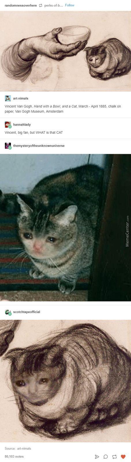 Vintage Cat Meme
