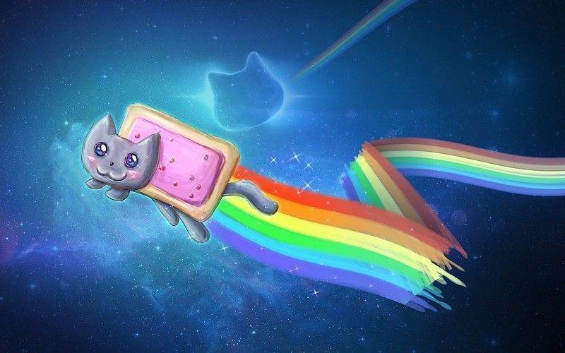 2048x1152 Nyan Cat Meme fondo de pantalla Imagenes para fondo de pantalla fondos de escritorio