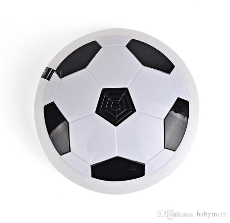 18cm Led Hover Ball Novelty Outdoor Indoor Play Drifting Football Sport Toys Kids LED Air Power Soccer Football Fun Disk Games Led Hover Ball Indoor Play