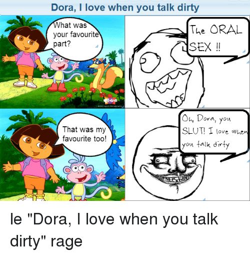 Love and Dirty Dora I love when you talk dirty hat