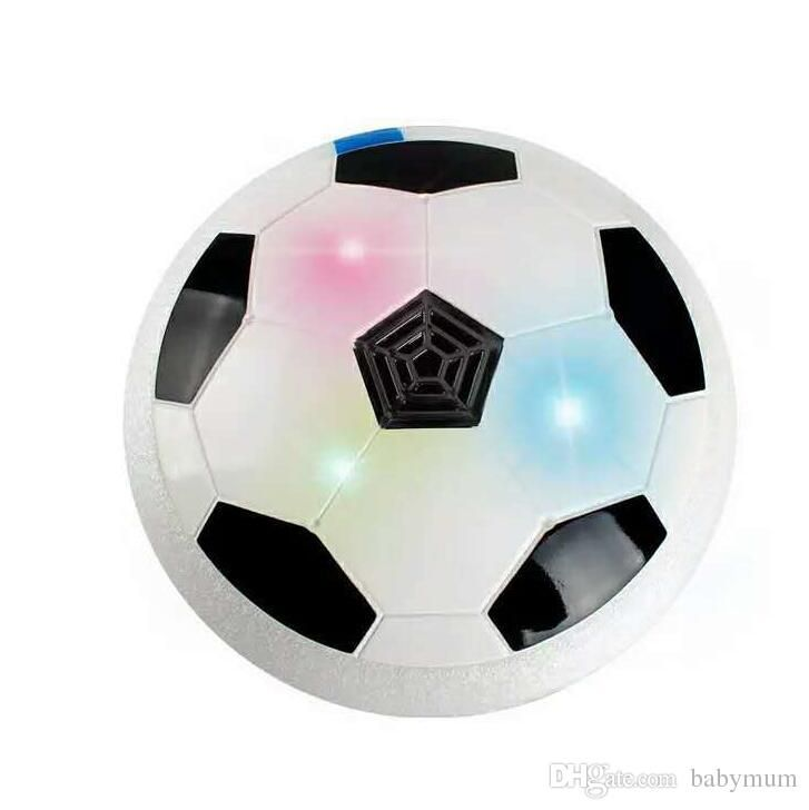 18cm led hover ball Novelty outdoor indoor play drifting football sport toys Kids LED Air Power