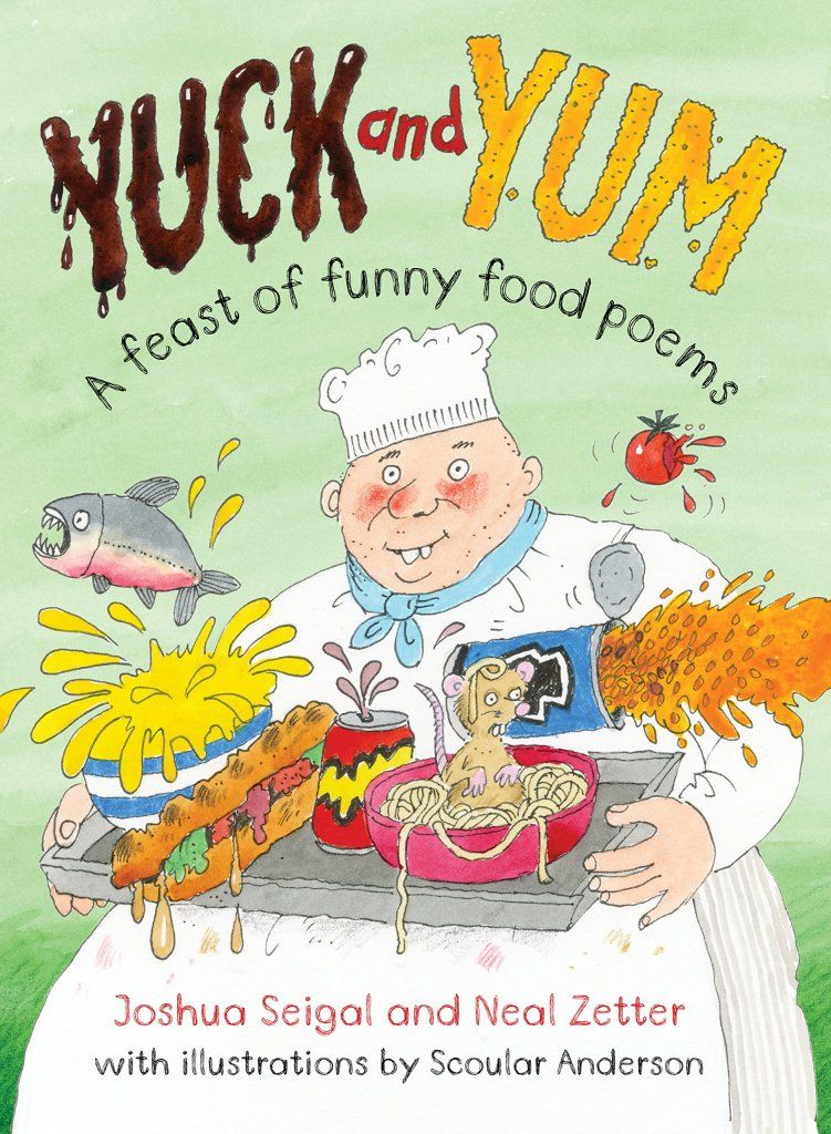 A feast of funny food poems ac panied by some really very dodgy laugh out loud facts except for the ones that are clearly true such as 99 of