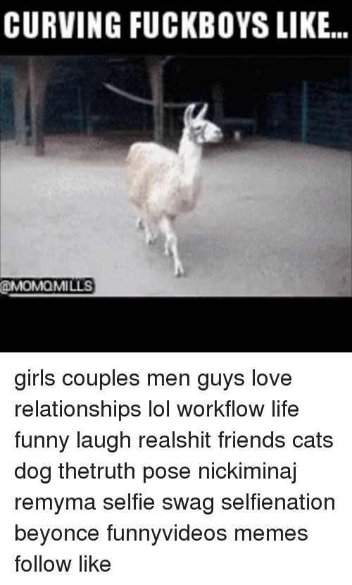 Memes 🤖 and Dog CURVING FUCKBOYS LIKE ODMOMaMILLS girls couples