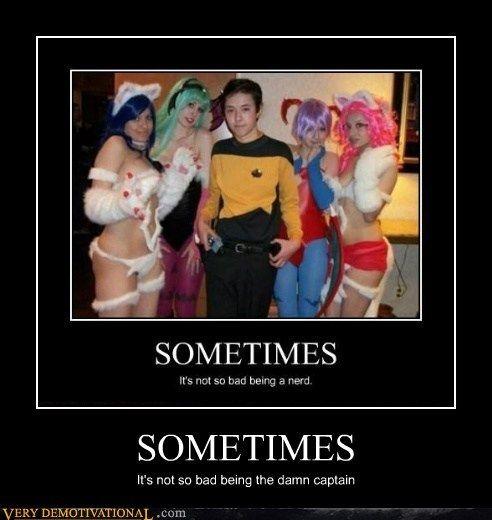 captain cosplay hilarious nerd Star Trek