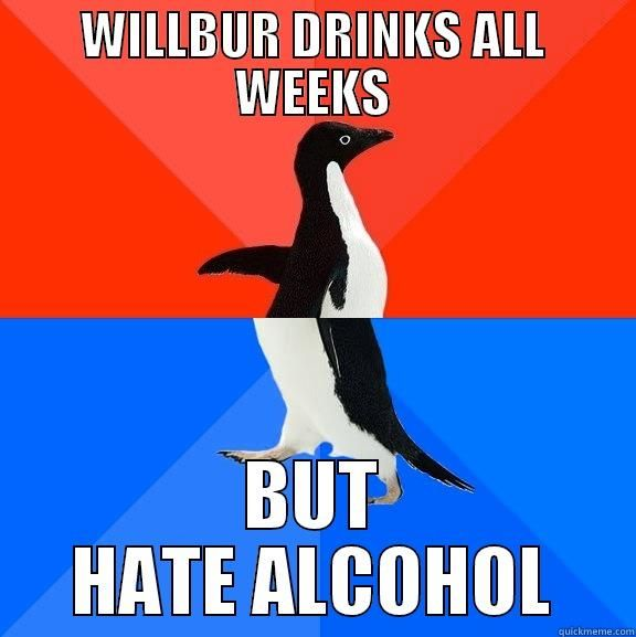 willbur alcoholic