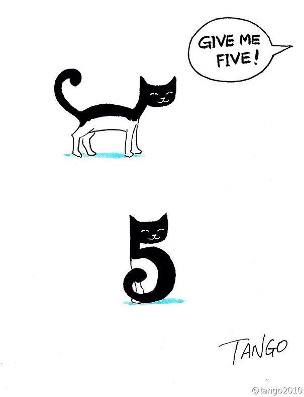 funny minimal animal illustrations shanghai tango 4